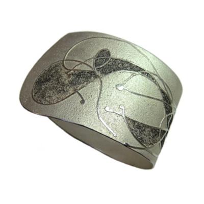 Armband Silber 925 mit Palladium Beschweißung