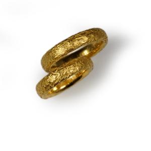 Trauringe Gelbgold 900/- punziert